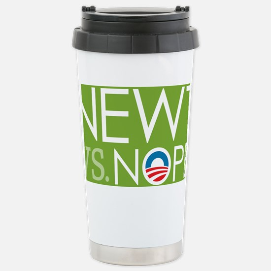 5x3_LG_nope_07 Stainless Steel Travel Mug