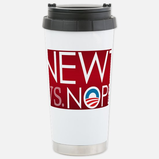 5x3_LG_nope_05 Stainless Steel Travel Mug