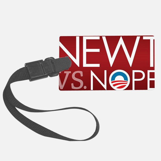button_nope_01 Luggage Tag