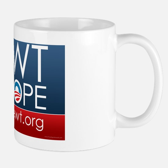 yard-sign_nope_01 Mug