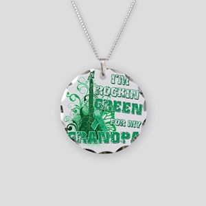 Im Rockin Green for my Grand Necklace Circle Charm