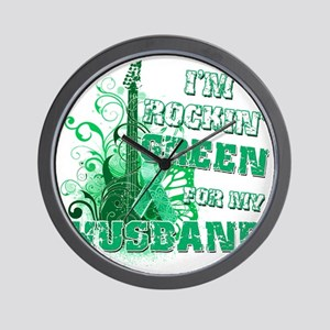 Im Rockin Green for my Husband Wall Clock