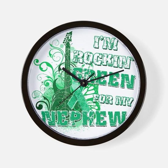 Im Rockin Green for my Nephew Wall Clock