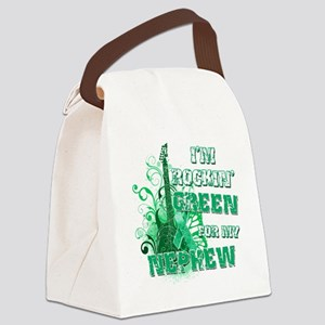 Im Rockin Green for my Nephew Canvas Lunch Bag
