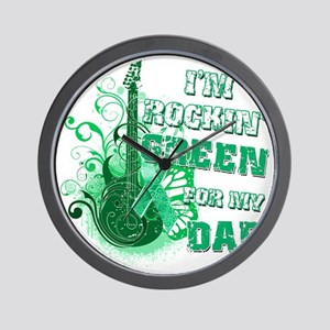 Im Rockin Green for my Dad Wall Clock