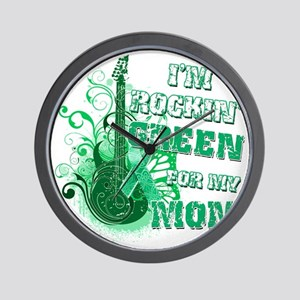 Im Rockin Green for my Mom Wall Clock