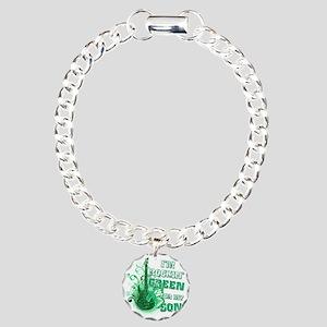 Im Rockin Green for my S Charm Bracelet, One Charm