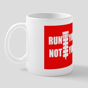run_car_not_mouth_LP_ Mug
