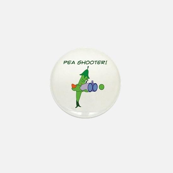 Pea Shooter! Mini Button