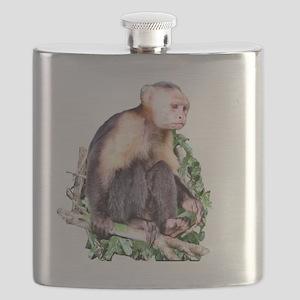Capuchin  Monkey Flask