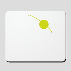 Cthulhu Pirate White/Green Mousepad