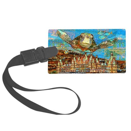 atlantisClutch Large Luggage Tag