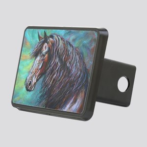 Zelvius painting by Janet Rectangular Hitch Cover