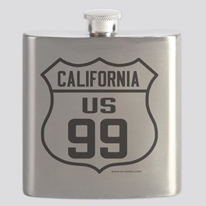 US Route 99 - California Flask