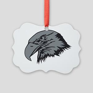 F-15 Eagle Logo 1 Picture Ornament