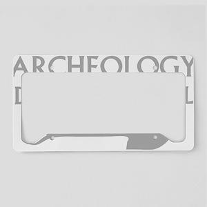 archeolDig3 License Plate Holder