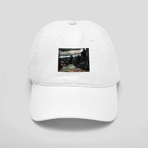 River in the plain - Paul Cezanne - c1880 Baseball