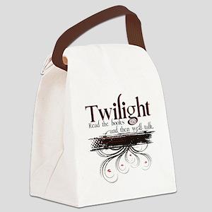 read twilight Canvas Lunch Bag