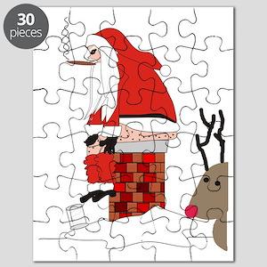 santa drawing gails Puzzle