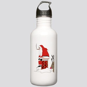 santa drawing gails Stainless Water Bottle 1.0L