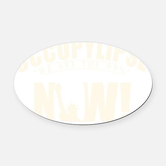 tshirt designs 0663 Oval Car Magnet