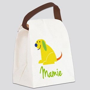Mamie-loves-puppies Canvas Lunch Bag