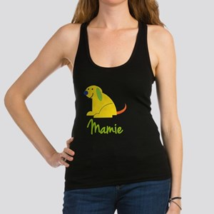 Mamie-loves-puppies Racerback Tank Top