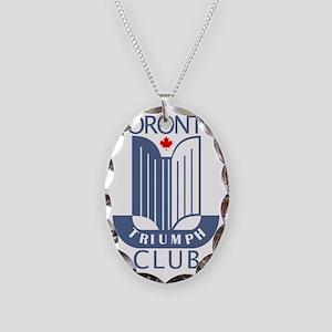 TTC-logo Necklace Oval Charm