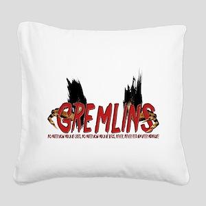 Gremlins Square Canvas Pillow