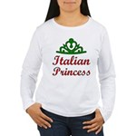 Italian Princess Women's Long Sleeve T-Shirt