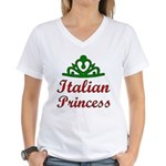 Italian Princess Women's V-Neck T-Shirt