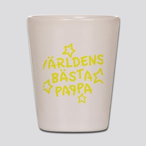 varldens-basta-pappa-001-gul Shot Glass