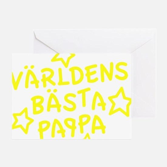 varldens-basta-pappa-001-gul Greeting Card