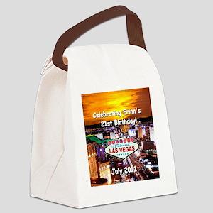 erinn 21 Canvas Lunch Bag