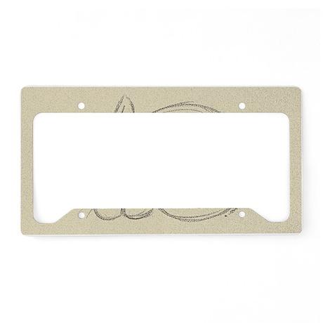 sleepykitten License Plate Holder