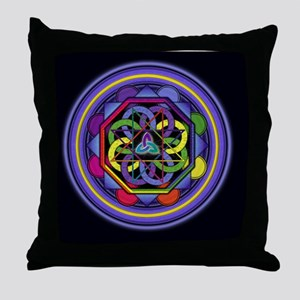 Enigma_lrg_Bleed Throw Pillow