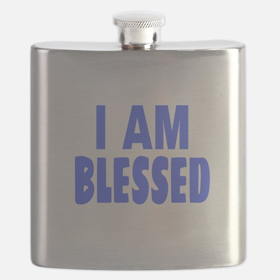 I Am Blessed Flask