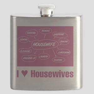 IHeartHousewives Flask