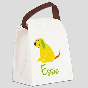 Essie-loves-puppies Canvas Lunch Bag