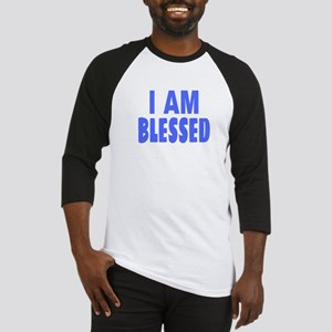 I Am Blessed Baseball Jersey