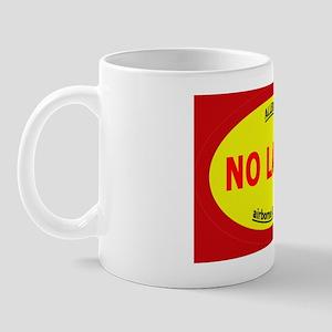 no latex - allergy- rect sticker Mug