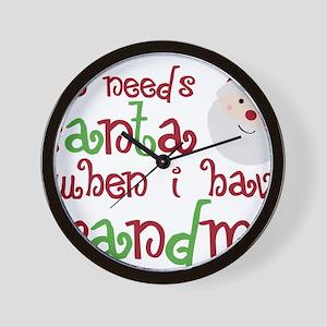 grandmasanta Wall Clock