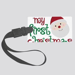firstchristmas Large Luggage Tag