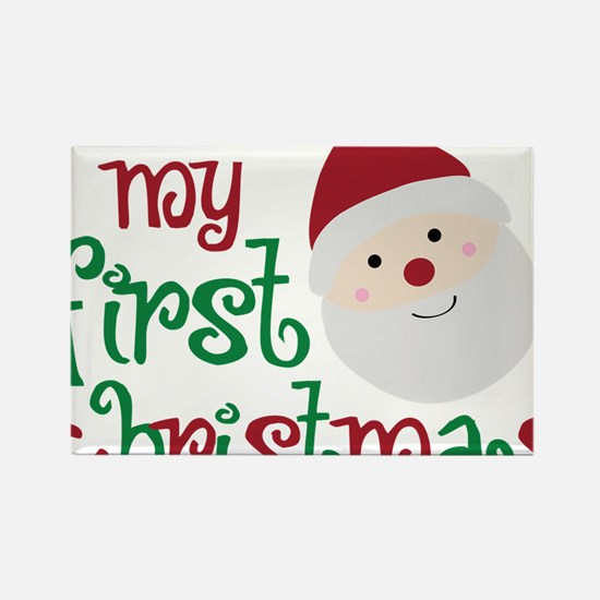 firstchristmas Rectangle Magnet