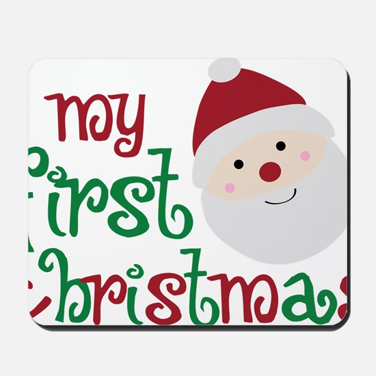 firstchristmas Mousepad