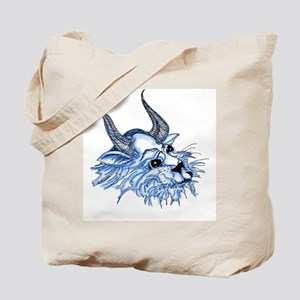horn cat Tote Bag