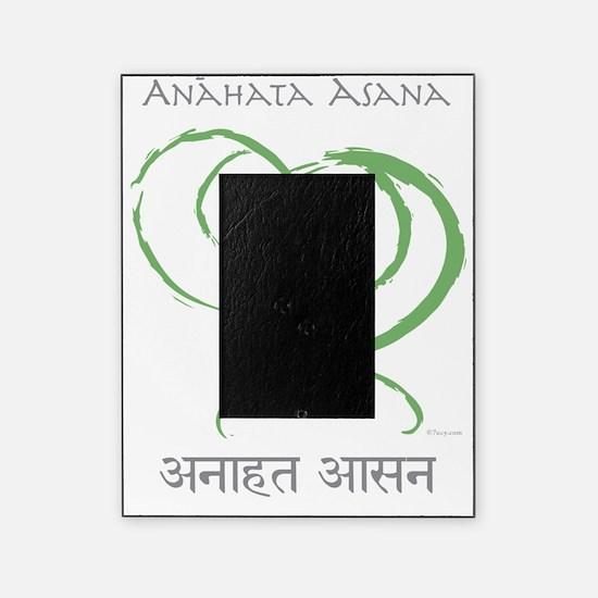 Anahata sanskrit back bend T-shirt Picture Frame