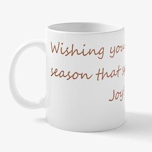 Holiday Greeting card Mug
