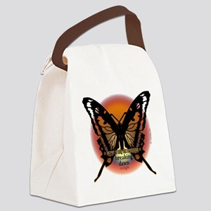 forever is onlythe beginning by t Canvas Lunch Bag