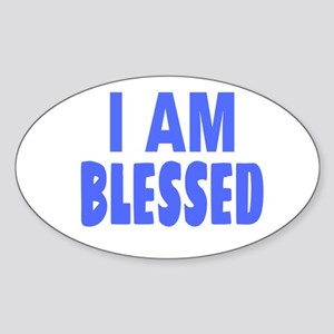 I Am Blessed Sticker